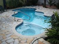 Mpspages Desert Springs Fiberglass Pool And Spa 01 San